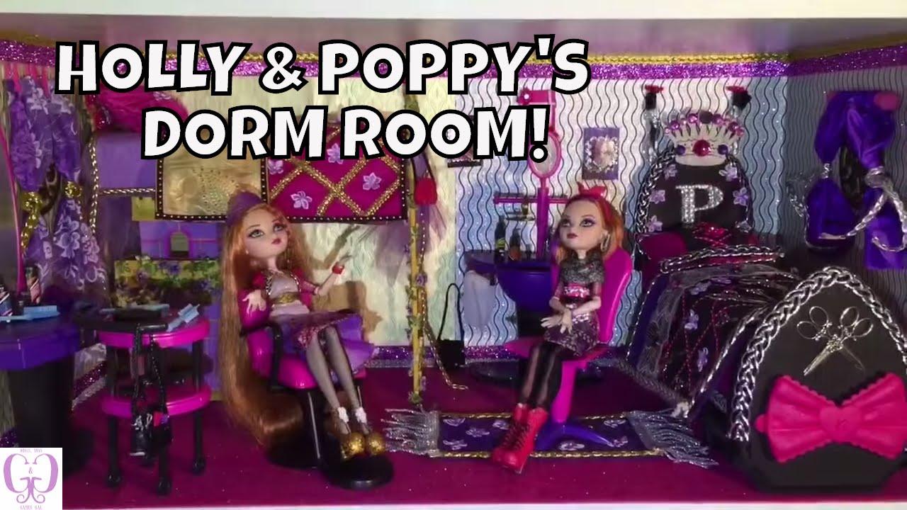 HOW TO MAKE A DORM ROOM FOR HOLLY O'HAIR & POPPY O'HAIR ...