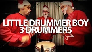 Little Drummer Boy - 3 Drummers - Pentatonix - Drum Cover - Phil J