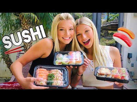 sushi-mukbang-|-sophy-opens-up-about-celiac-disease...
