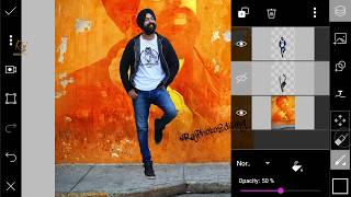 Wall Photo Editing like Danish Zehan | 4 Steps in Hindi | Raj Photo Editing
