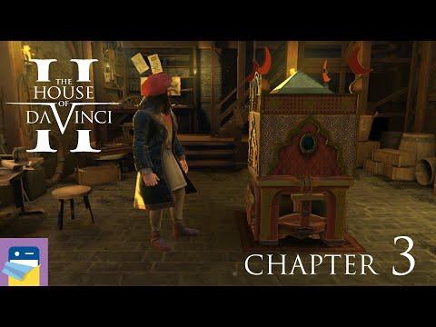 The House of Da Vinci 2: Chapter 3 Corte Vecchia Walkthrough & Gameplay (by Blue Brain Games)