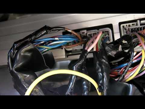 [SCHEMATICS_4NL]  LX470 Wiring Diagram for Aftermarket Headunit - YouTube | Lexus Lx470 Headlight Wiring Harness |  | YouTube