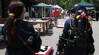 Alabama Ghostbusters - Mt. Laurel Craft Fair - June 5, 2010
