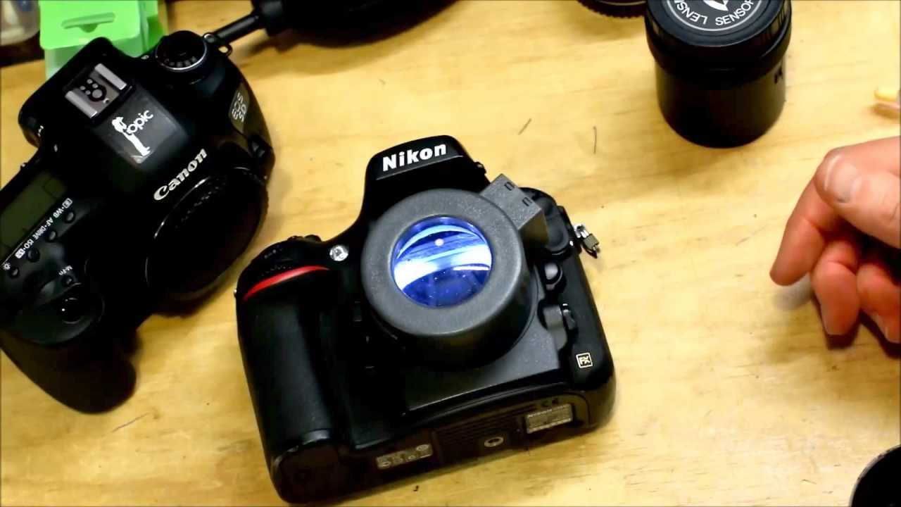 Camera Rocket Blower : Dslr sensor cleaning with the visible dust zeeion blower and