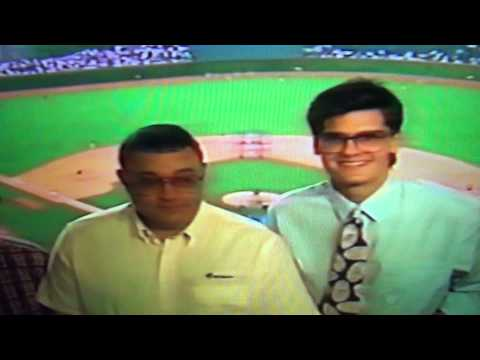 Harry Caray, Skip Caray, & Chip Caray Announce Atlanta Braves Chicago Cubs Game
