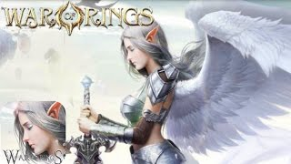WAR OF RINGS ( ANDROID / IOS / MOBILE ) GAMEPLAY TRAILER [HD] APK HACK MMORPG !