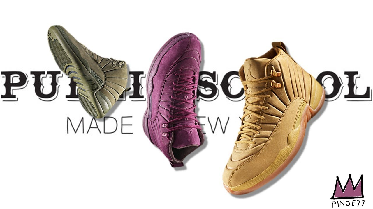 PSNY x AIR JORDAN 12 RELEASE DETAILS, NEW NIKE TECHNOLOGY 'REACT' AIR MAX  DAY 2018 & MORE!!