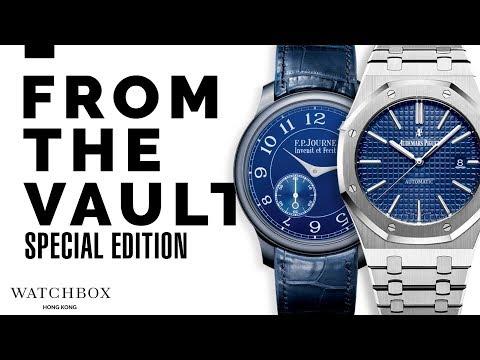 From the WatchBox Hong Kong Vault | Rolex, Audemars Piguet and F.P. Journe!