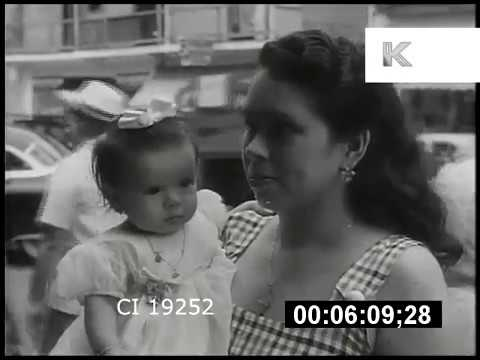 1950s Panama City, Streets, Siesta