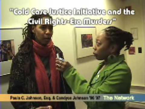 Cold Case Justice Initiative and the Civil Rights-Era Murders Promo