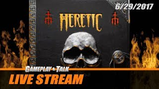 Gameplay and Talk Live Stream - Heretic: Shadow of the Serpent Riders and HEXEN