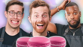 The Try Guys Bake Macarons Without A Recipe