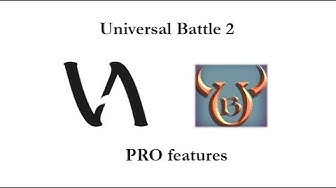 Universal Battle 2 PRO features