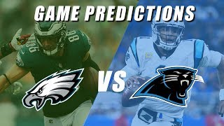 Philadelphia Eagles vs Carolina Panthers Predictions