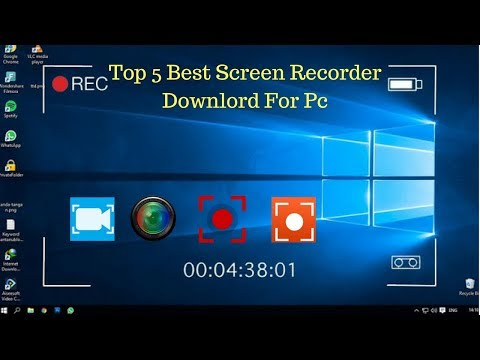 Top 5 Best Screen Recorder Softwears Downlord For Pc  ( SL Tech Side )