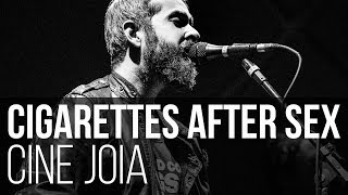 Cigarettes After Sex - Nothing's Gonna Hurt You Baby (Live Lyric Video) (Cine Joia / São Paulo)