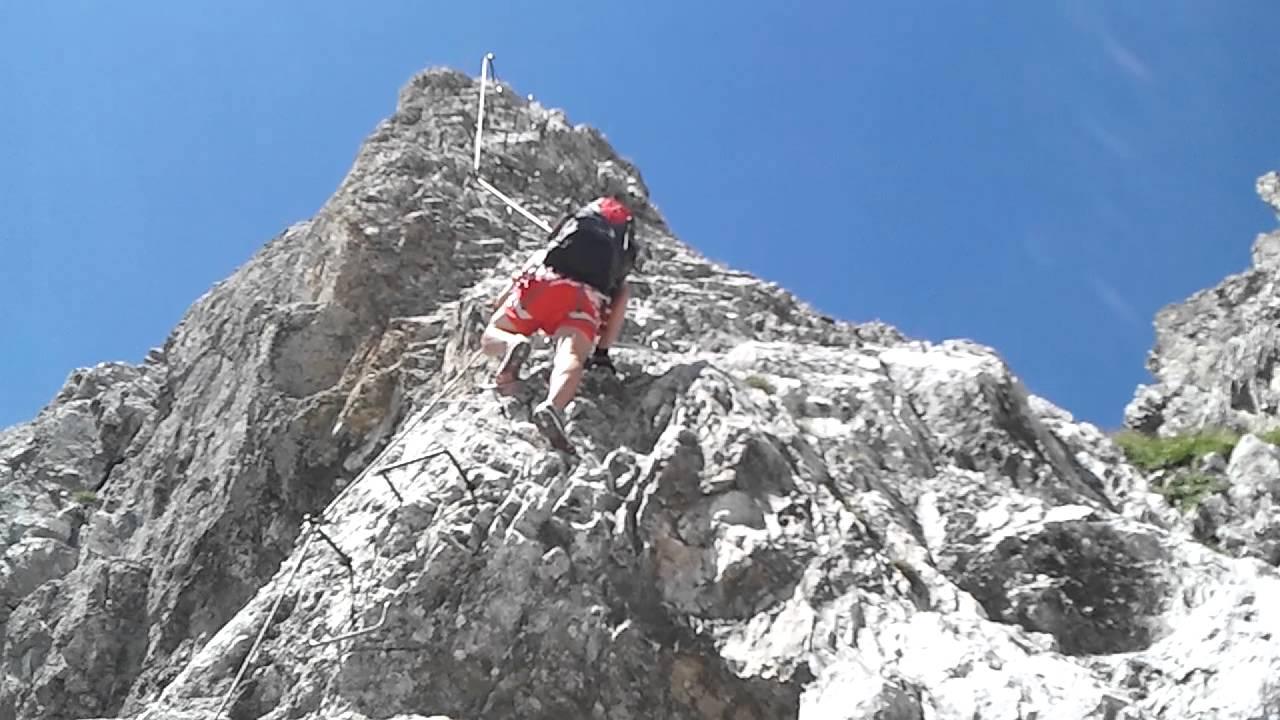 Klettersteig Innsbruck Umgebung : Austrianimages nordkette innsbruck klettersteig kletterin