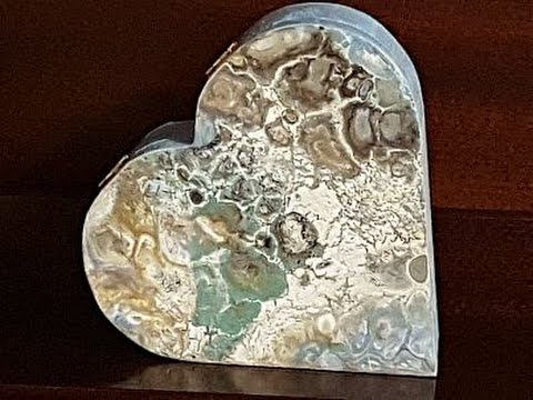 Fluid Painting 'Heart Shaped Box' (Experimental) Free Your Mind Art