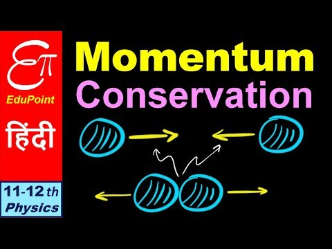 🔴 CONSERVATION of MOMENTUM || in HINDI