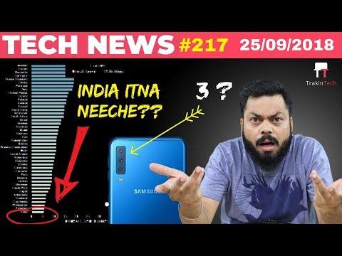 Samsung Galaxy A7, OnePlus 6T Launch, Nokia 7.1 Plus, Flipkart Vs Amazon, Vivo V11 Launch-TTN#217