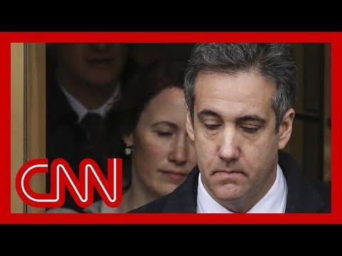 Prosecutors interview Michael Cohen for Trump Org probe