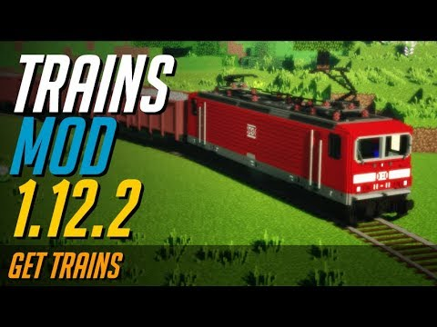 TRAINS MOD 1 12 2 minecraft - how to download and install Trains mod 1 12 2  (with forge on Windows)