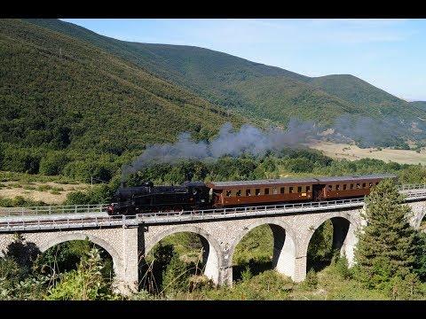 I treni del 120° anniversario Transiberiana d'Italia 1897-2017  ( 4k + Drone)