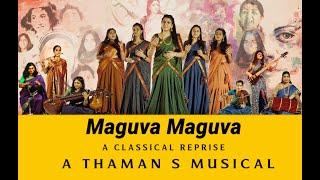 Maguva Maguva - A Classical Reprise | Vakeel Saab | Thaman S | Pawan Kalyan | Dhruvam