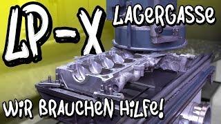 Lamborghini Lagergasse bohren - Wir brauchen eure Hilfe! LP-X Projekt Folge 15 | Philipp Kaess |