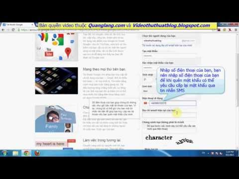 Hướng dẫn tạo tài khoản Google - Cách tạo hộp thư Gmail
