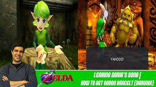 Saria's Song | How To Get Goron Bracelet [Darunia] - The Legend of Zelda: Ocarina of Time 3D [#03]