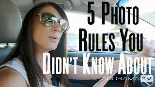 5 Photo RULES You DON'T know About | Breathe Your Passion with Vanessa Joy