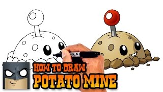 How to Draw Potato Mine   Plants vs Zombies