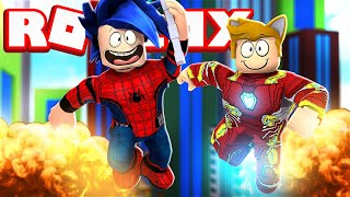 Sonic & Tails *Superheroes*   Roblox