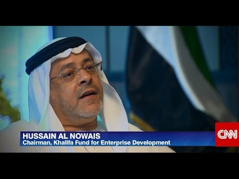 CNN: Hussain Al Nowais on Diversifying the UAE economy and Supporting entrepreneurs