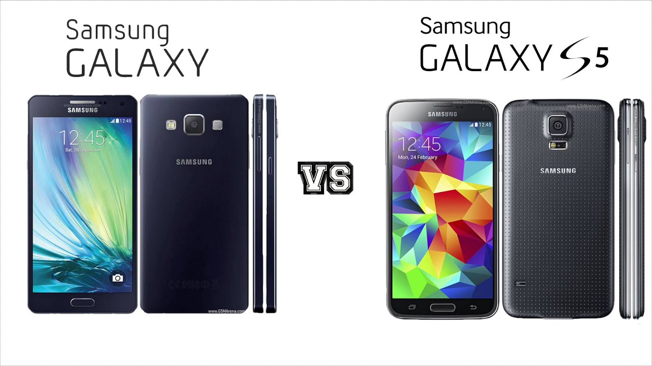 new samsung galaxy a5 vs samsung galaxy s5 plus youtube. Black Bedroom Furniture Sets. Home Design Ideas