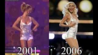 """Знаменитости, которые копируют Бритни Спирс. Celebrities Who Copy Britney Jean Spears"""