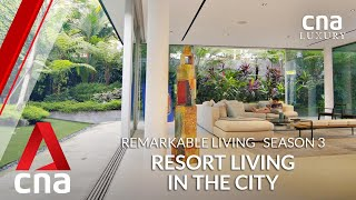 A Bali-style family home in the middle of Singapore | Remarkable Living