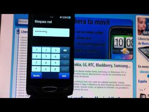 Liberar Samsung S8530 Wave II por código, Movical.Net