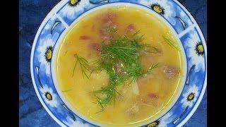 Гороховый суп. Видео рецепт.