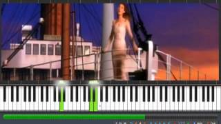 Celine Dion - My Heart Will Go On (Titanic) Piano Instrumental Cover  - Manoj Yarashi
