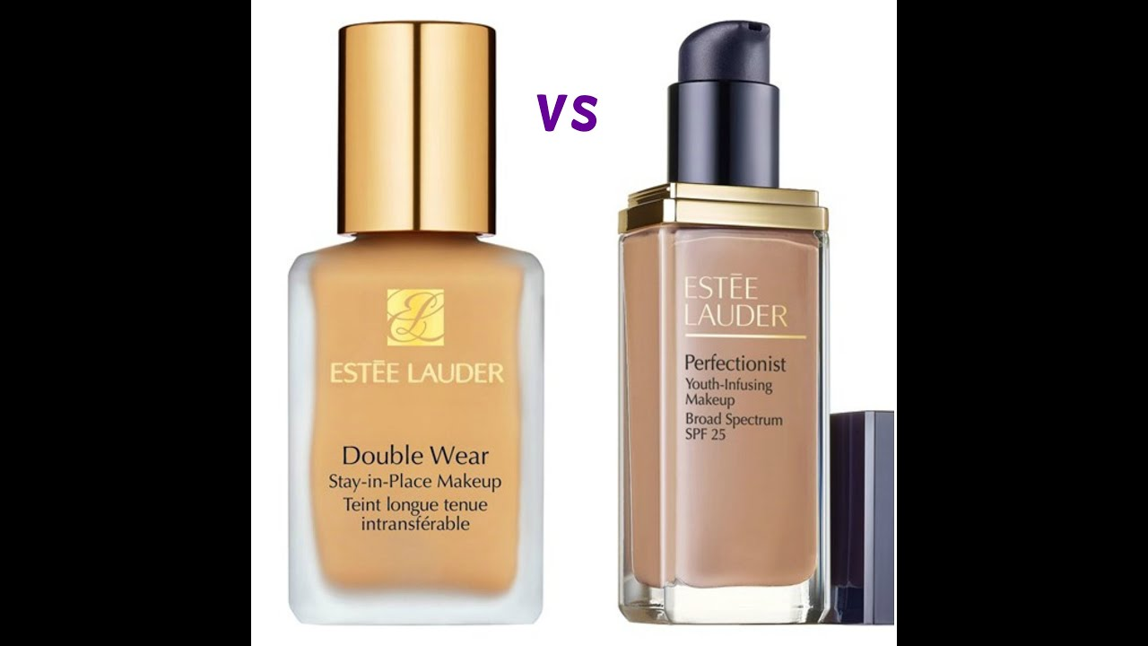 Estee lauder double wear foundation vs perfectionist also rh youtube