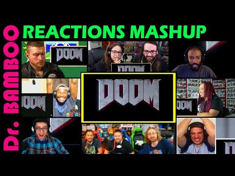 DOOM Eternal - Official E3 Teaser REACTIONS MASHUP