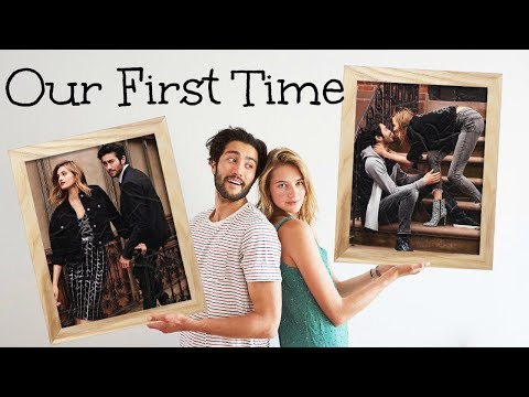 Our First Time | Modeling With My Boyfriend & Express | Sanne Vloet
