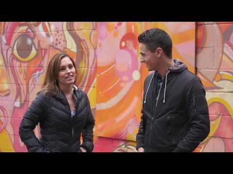 Amy Jo Johnson explains Power Rangers cameo!