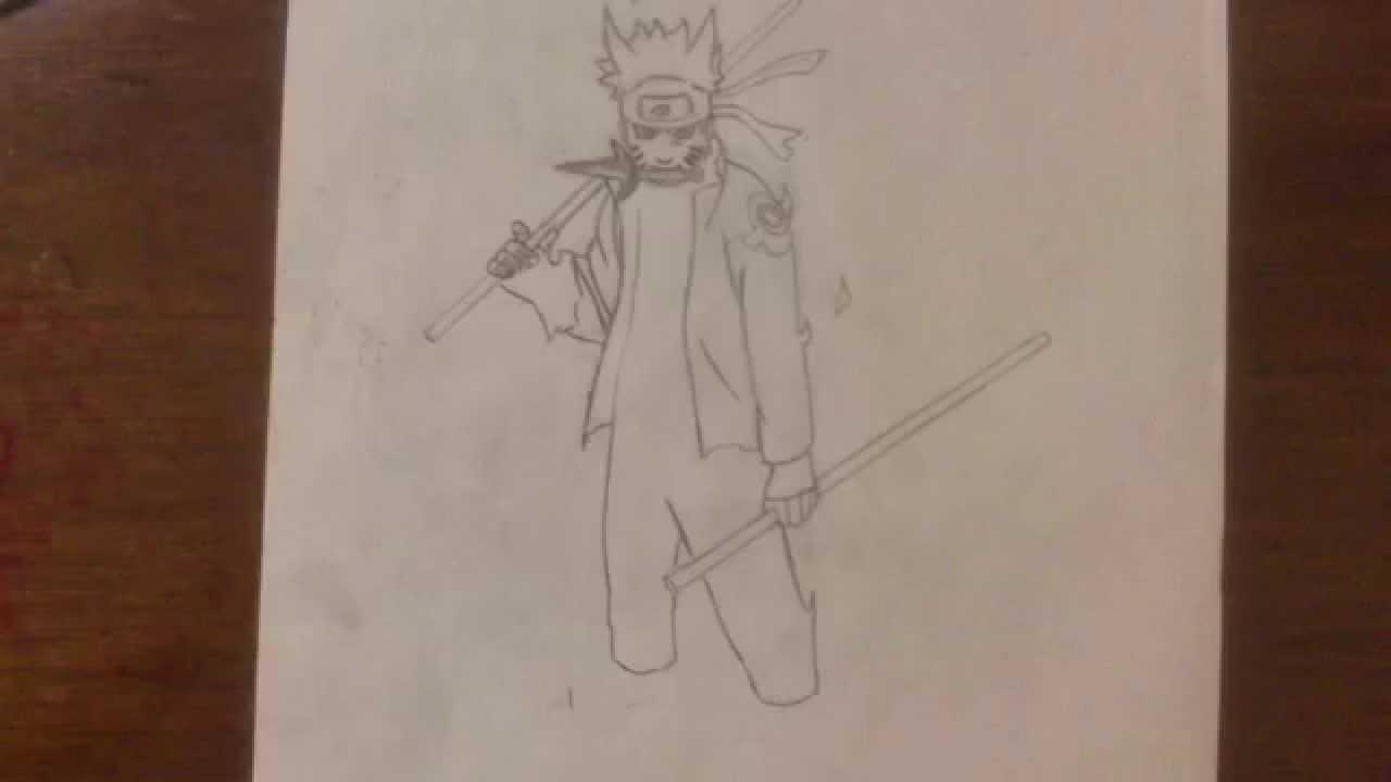 Naruto mode ermite rikudo dessin - Comment dessiner madara uchiwa ...