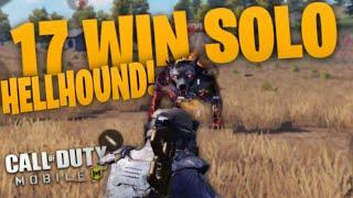 17 KILL WIN VS HELLHOUND (CERBURUS) IN CALL OF DUTY: MOBILE BATTLE ROYALE!