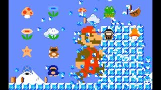 Mario Multiverse ALL POWER-UPS | SMB1 Style |