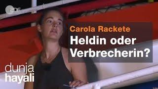 Erster Talkshow-Auftritt von Seenotretterin Carola Rackete bei Dunja Hayali