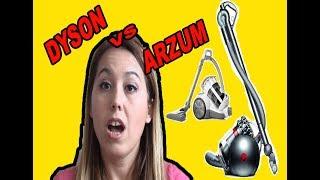 Dyson Süpürgemi Çöpe Atasım Geldi! |Dyson VS Arzum